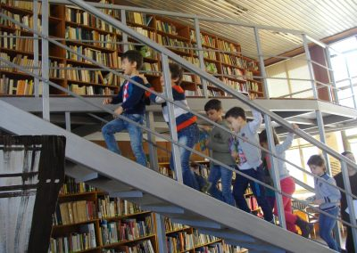 Посещение в библиотеката