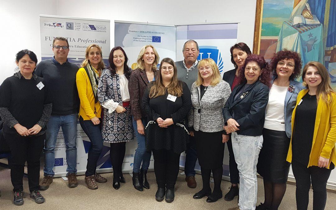 Поредна среща по проекта E-STEAM в Търгу Муреш