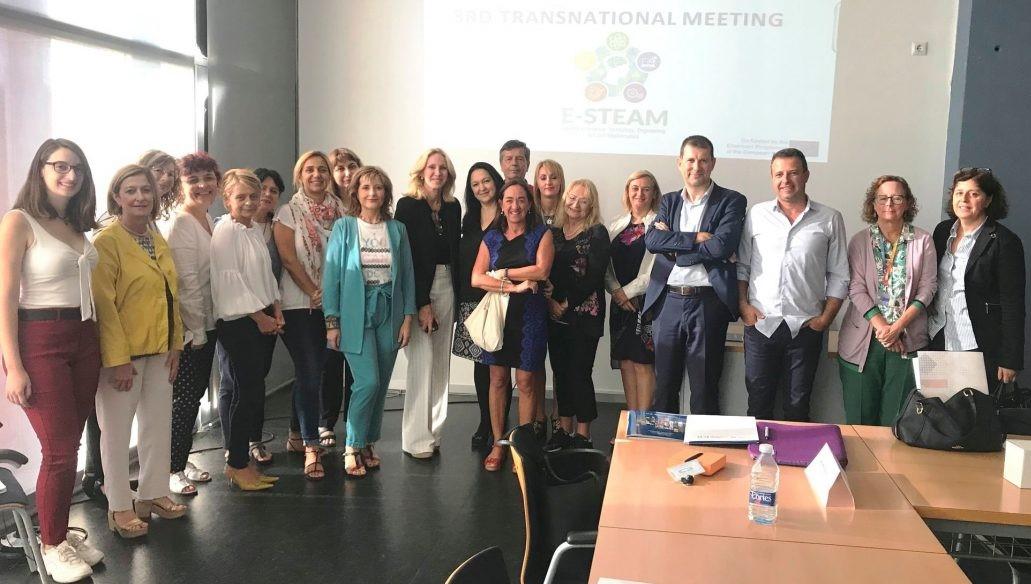 Трета международна среща по проекта E-STEAM