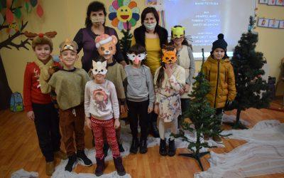 Щъркелът, лисицата и бялата приказка